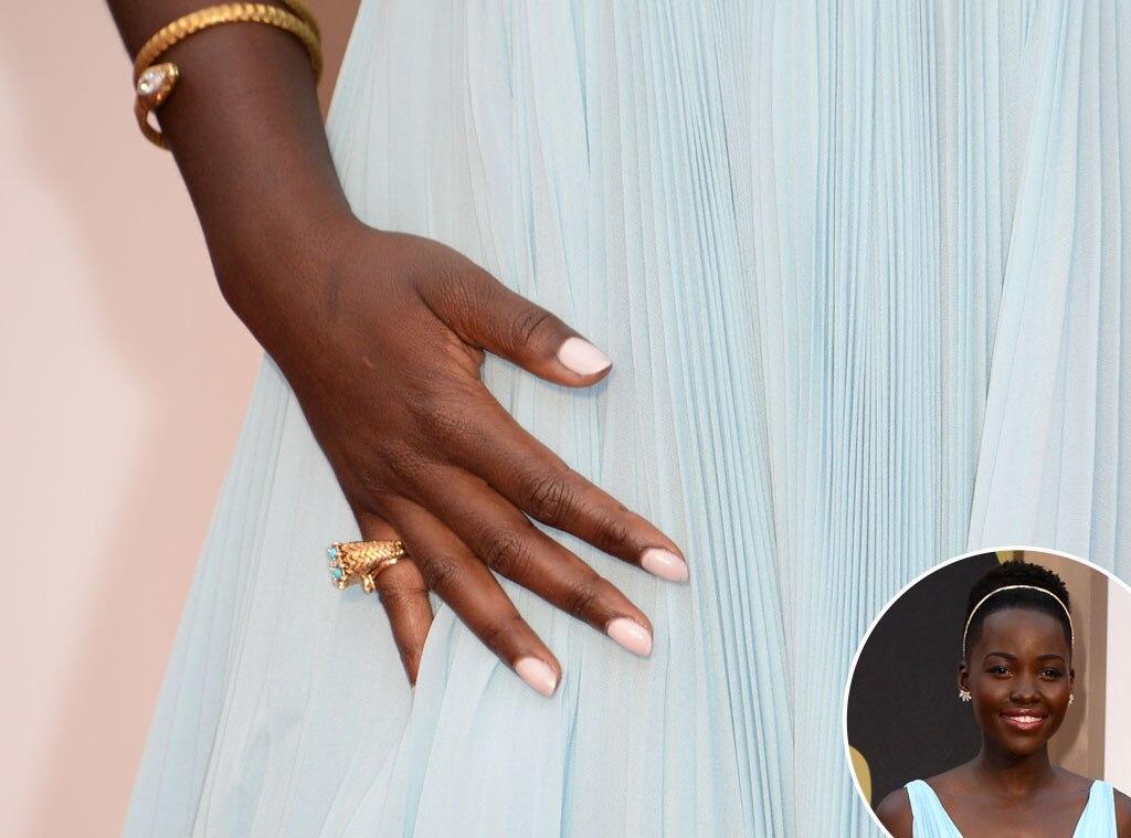 Lupita Nyong'o, Oscars, Manicure