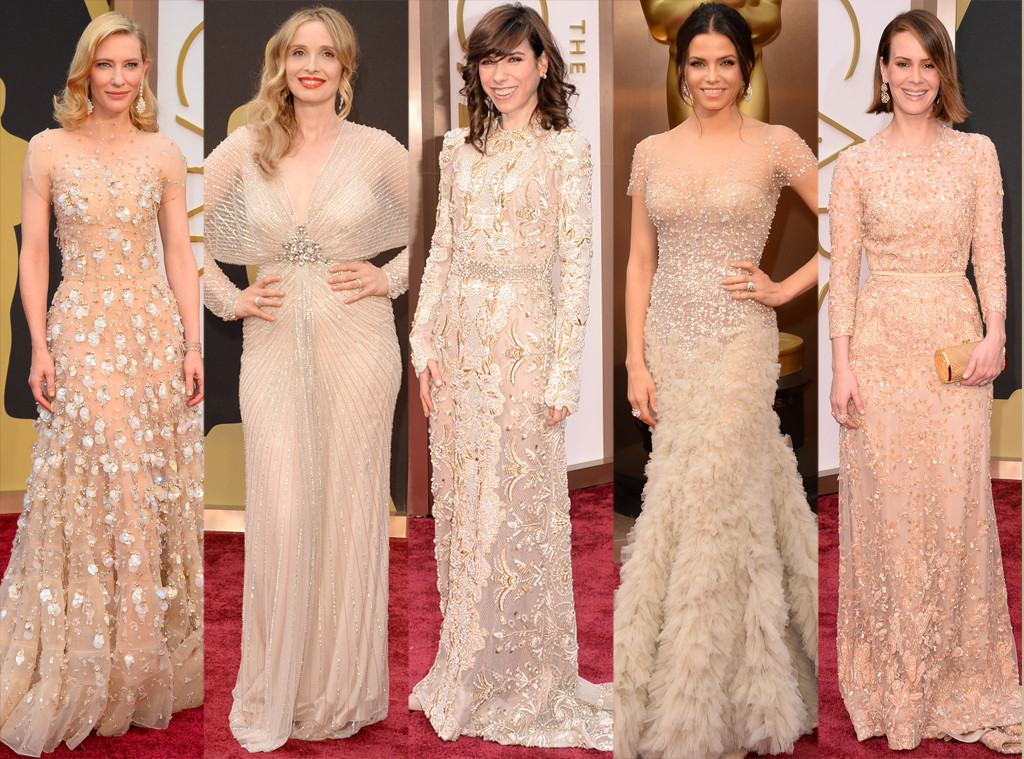 Oscars, Sparkly Nudes, Julie Deply, Cate Blanchett, Jenna Dewan-Tatum, Sarah Paulson, Sally Hawkins