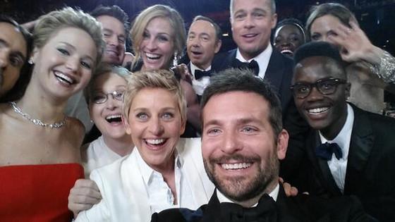 Ellen DeGeneres, Oscar Selfie