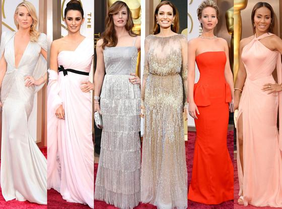 Jennifer Lawrence, Angelina Jolie, Kate Hudson, Jennifer Garner, Penelope Cruz, Jada Pinkett-Smith, Oscars