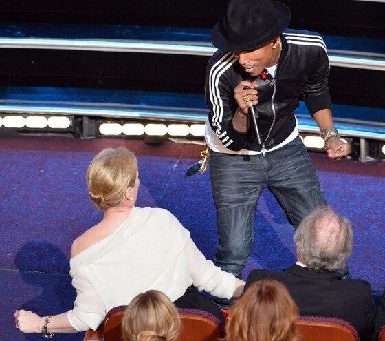 Pharrell Williams, Meryl Streep, Oscars