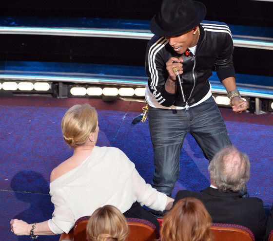 Pharrell Williams, Meryl Streep, Oscars