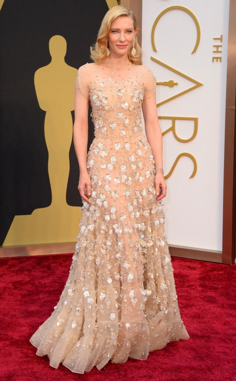Cate Blanchett, Oscars, Dresses, 2014