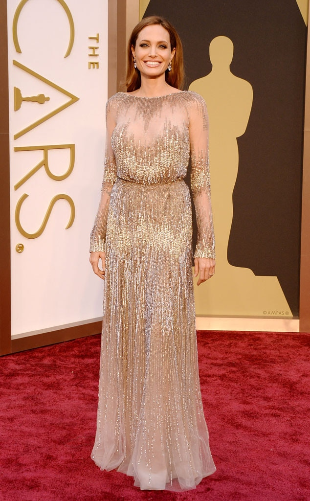 Angelina Jolie from Best Dressed at 2014 Oscars | E! News