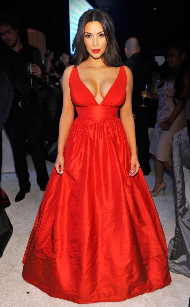 Ball Gown Chic from Kim Kardashian\'s Best Looks