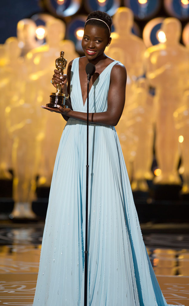Image result for lupita nyong'o oscar