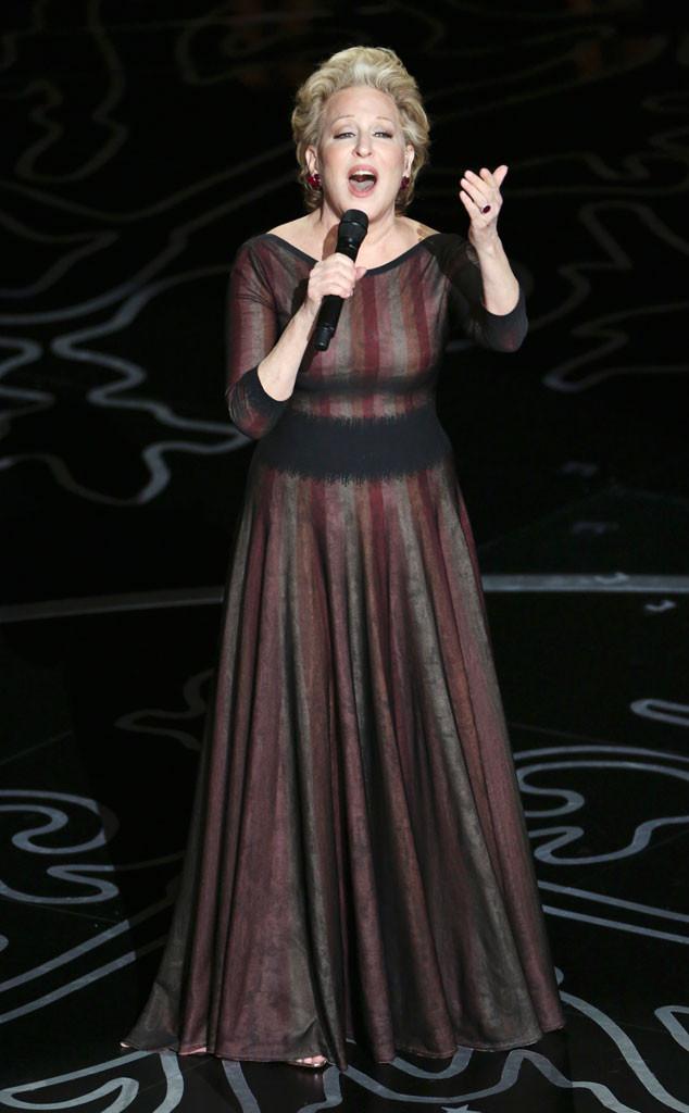 Bette Midler, Oscars Show