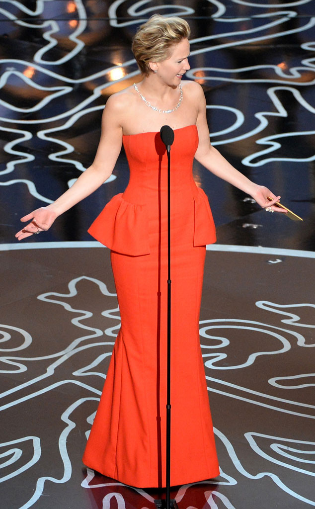 Jennifer Lawrence, Oscars Presenters