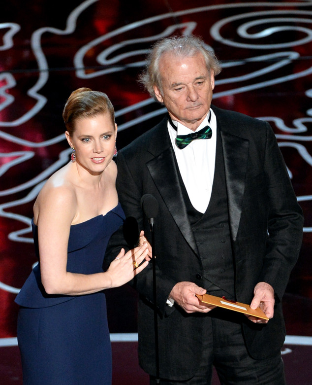 Amy Adam, Bill Murray, Oscars Presenters