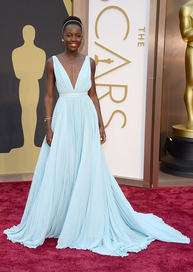 Lupita Nyong'o's Stylist on the Star's Cust Prada Gown: I Think We