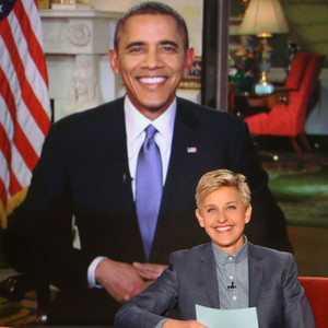 Barack Obama, Ellen Degeneres, The Ellen Show