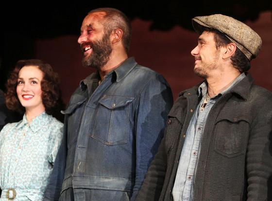Leighton Meester, James Franco, Chris O'Dowd