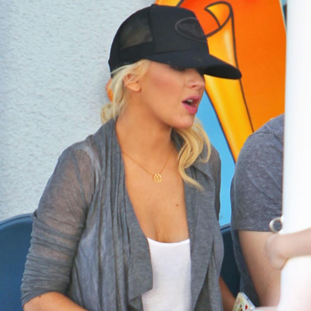 Christina Aguilera… ¿embarazada?