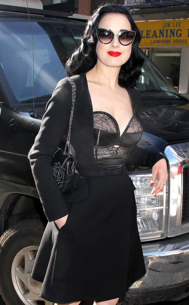 Dita Von Teese From The Big Picture Todays Hot Photos E News