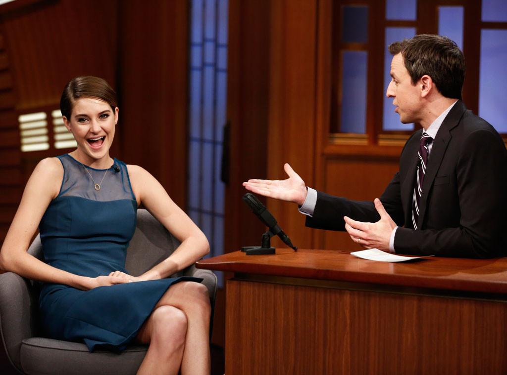 Shailene Woodley, Late Night With Seth Meyers