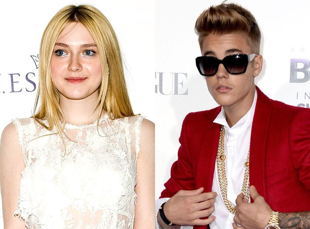 Justin Bieber, Dakota Fanning