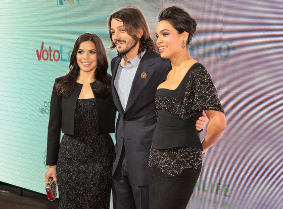 America Ferrera, Diego Luna, Rosario Dawson