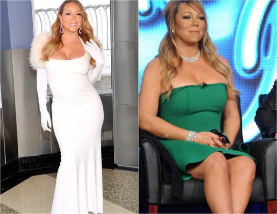 Mariah Carey, antes e depois
