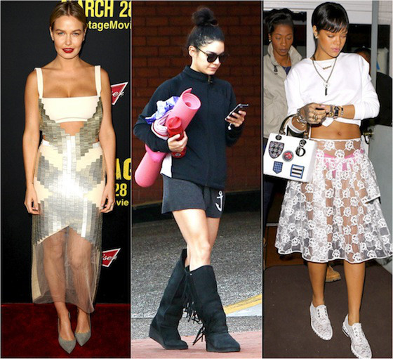 Famosas mais mal vestidas de 17 a 21 de março