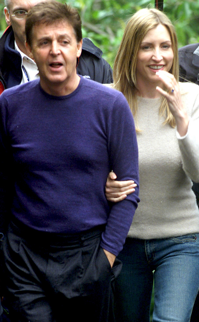 Paul McCartney, Heather Mills, Divorce