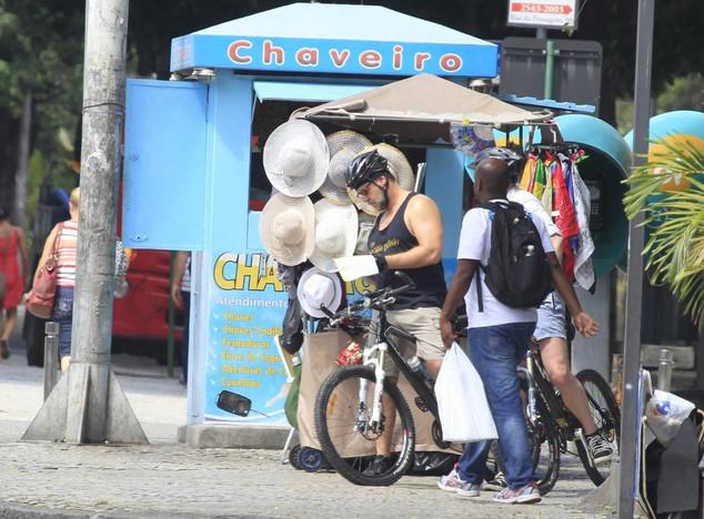 Russell Crowe no Rio de Janeiro