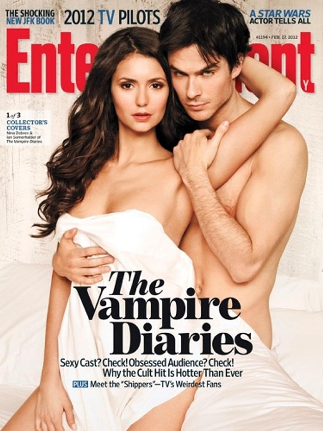 Entertainment Weekly, Nina Dobrev, Ian Somerhalder