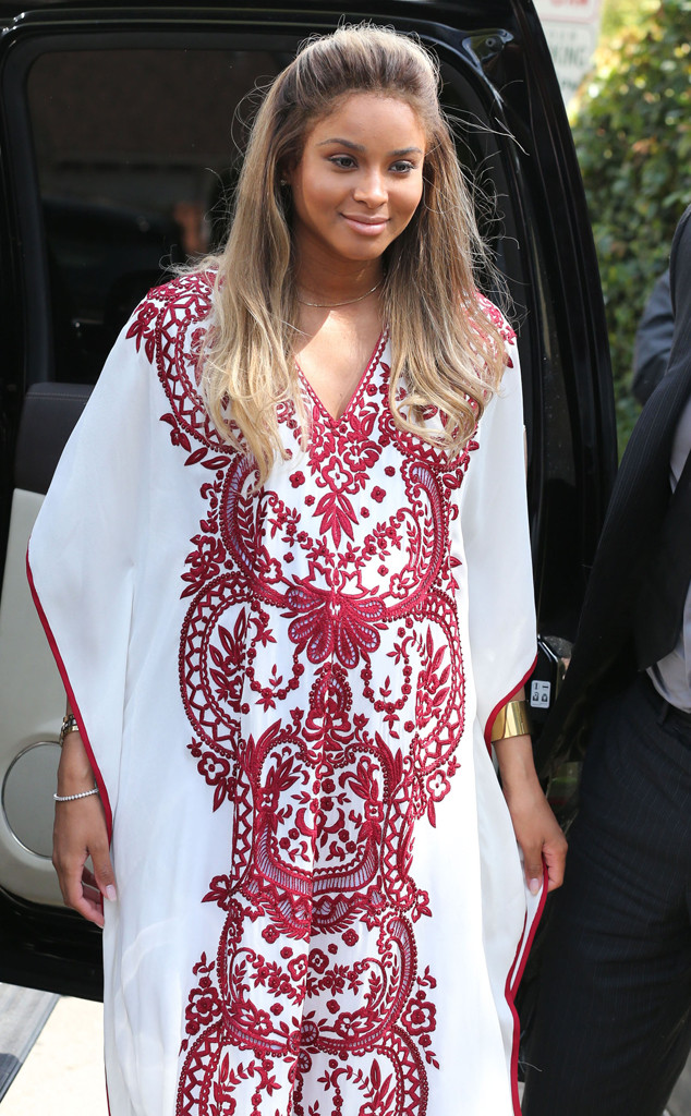 3b3e62e695d Ciara Stuns at Her Baby Shower With Kim Kardashian and LaLa Vasquez ...