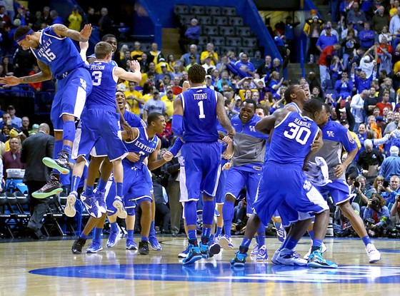 Wichita State, Kentucky Wildcats