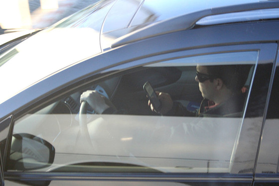 Texting While in Traffic