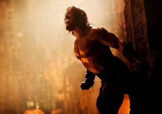 Dwayne Johnson, La Roca, Hercules