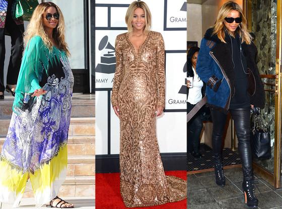 Ciara, Pregnancy Style