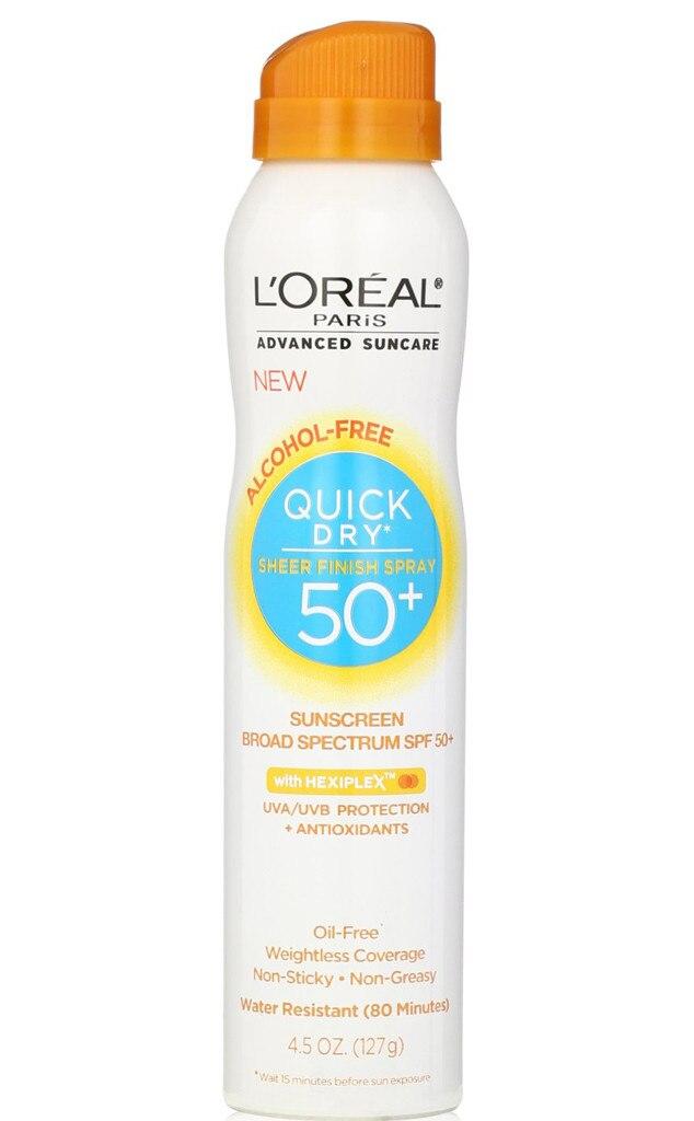Spring Break Essentials, L'Oreal Sunscreen