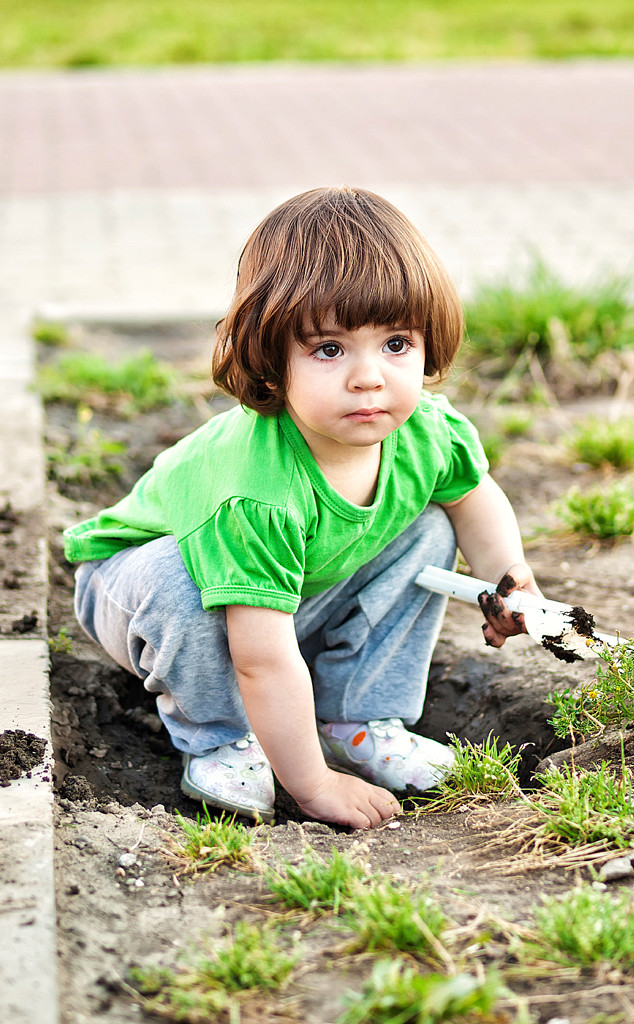 Baby Playing with Mud, Baby Gallery
