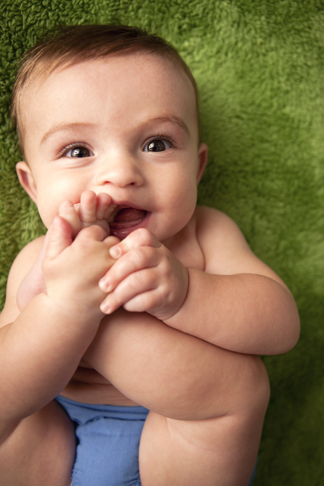 Baby Playing with their Feet, Baby Gallery