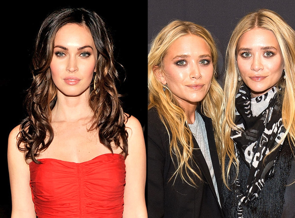 Megan Fox, Mary-Kate Olsen, Ashley Olsen, Same Age Gallery