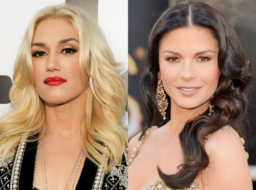 Same Age Gallery, Catherine Zeta-Jones, Gwen Stefani