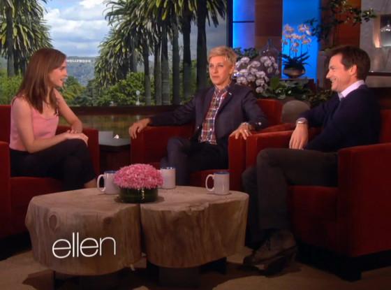 Emma Watson, Jason Bateman, Ellen Degeneres