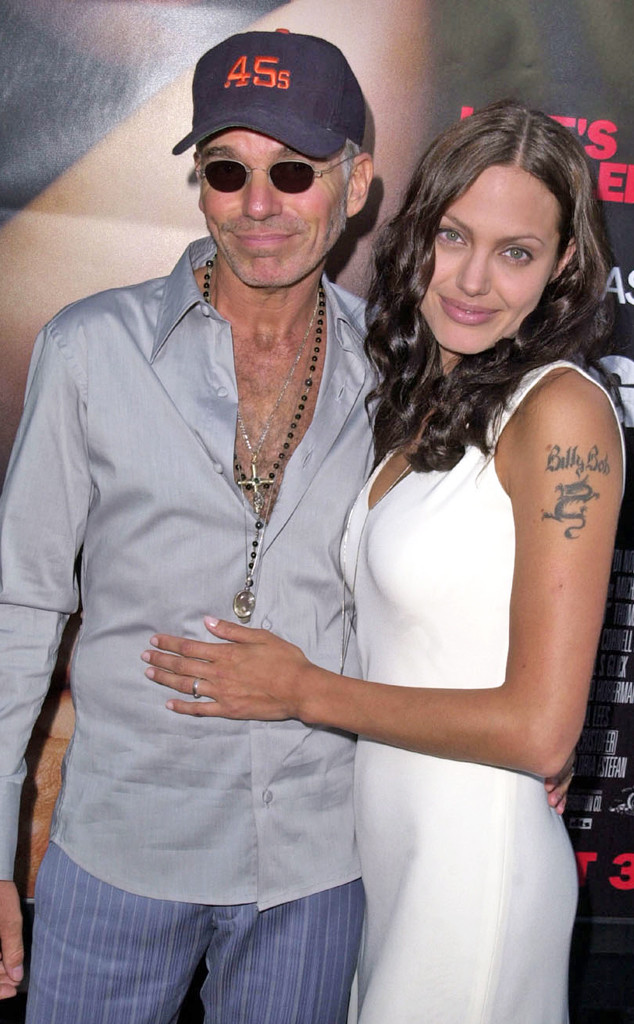 Angelina Jolie, Billy Bob Thornton, Tattoo