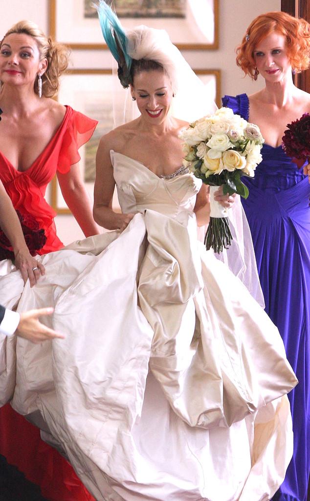 los 8 vestidos de novia más icónicos del cine (+ fotos) | e! news