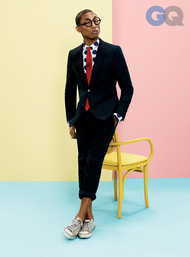 Pharrell, GQ Magazine