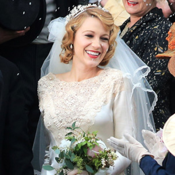 Blake Lively Stuns in a Wedding Dress, Looks Effortlessly Gorgeous ...