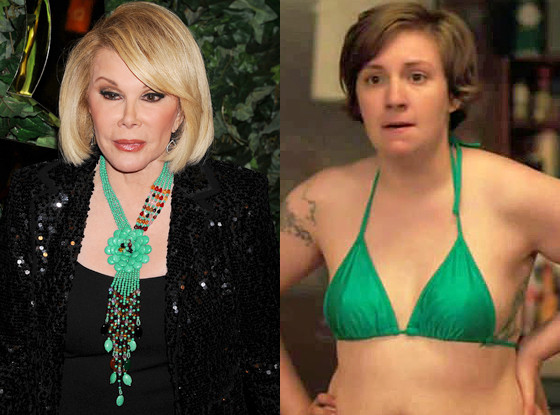 Joan Rivers, Lena Dunham, Girls