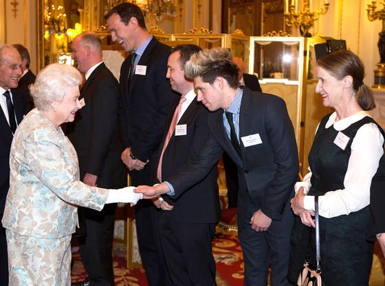 Queen Elizabeth II, Niall Horan