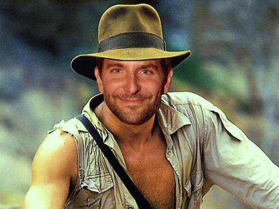 Indiana Jones Photoshop, Bradley Cooper