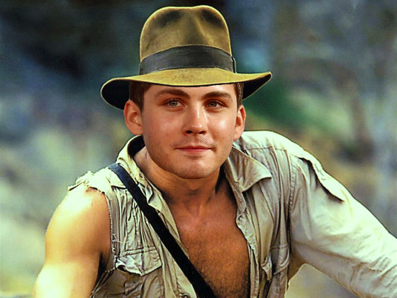 Indiana Jones Photoshop, Logan Lerman