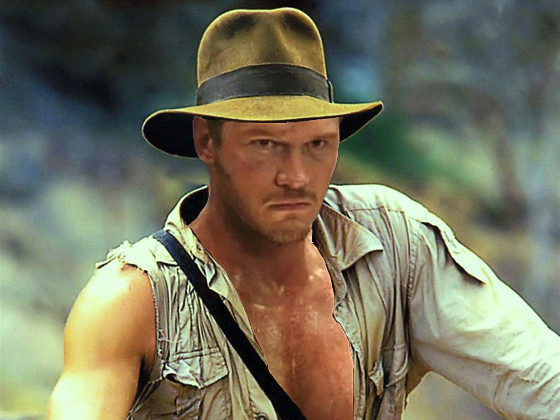 Indiana Jones Photoshop, Chris Pratt