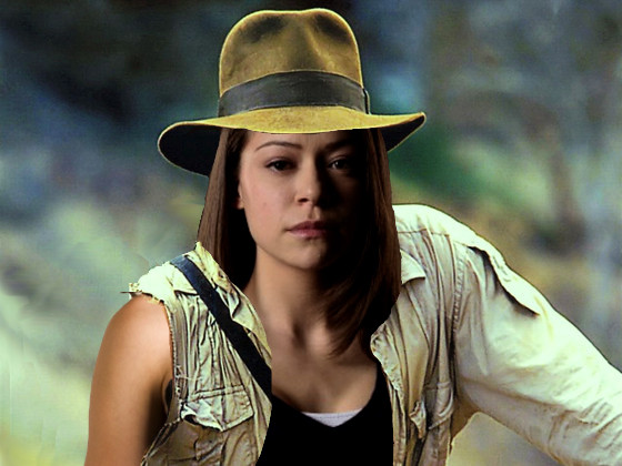 Indiana Jones Photoshop, Tatiana Maslany