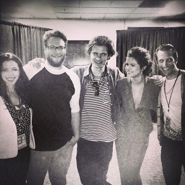 Selena Gomez, Seth Rogen