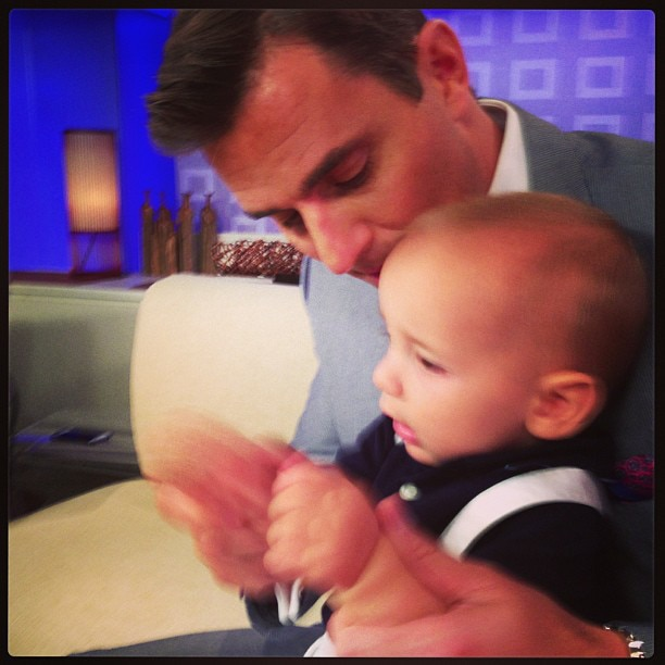 Bill Rancic and Baby Duke: Like Father, Like Son