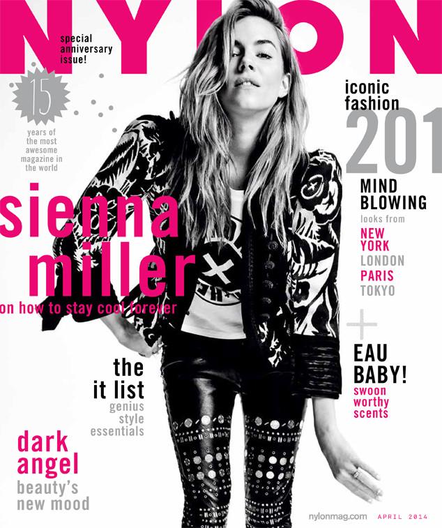 Nylon, Sienna Miller